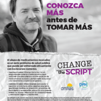 Prevention Flyer, Male 1 (Spanish)