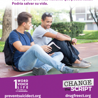 Asking For Help - Suicide Prevention Flyer (Spanish)