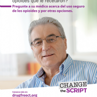 Talk to Your Doctor Flyer, Male (Spanish)